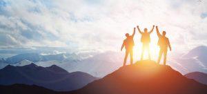 climbing a mountain and values